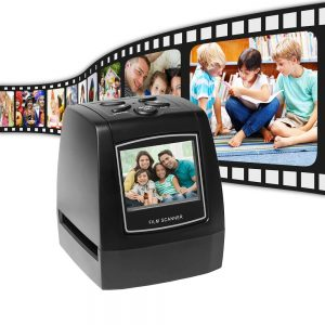 Escaner Diapositivas EC718 5MP 35mm negativo, copia SD