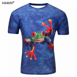Camiseta 3D Frog