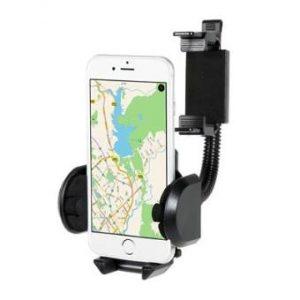 Soporte universal Smartfhone para retrovisor 360º