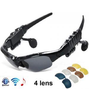 Gafas de sol deportes con Auriculares bluetooth MP3