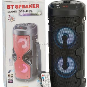 Altavoz portatil bluetooth BT Speaker ZQS-4209 y ZQS-4210