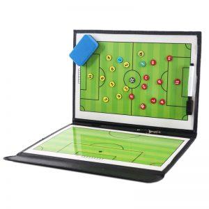 Tablero portátil táctico de fútbol