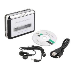 Cassette reproductor y grabación USB