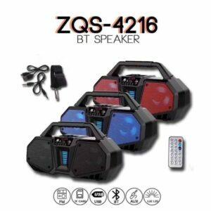 Altavoz portátil bluetooth BT Speaker  ZQS-4216